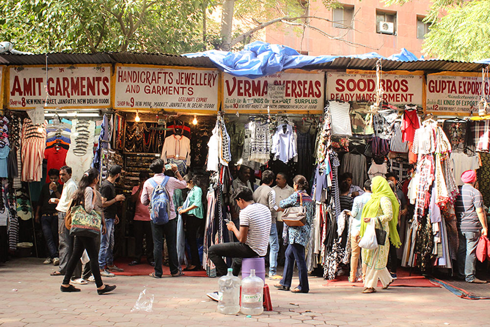 D'source Design Gallery on Janpath Market - Markets in Delhi | D'source Digital Online Learning Environment for Design: Courses, Resources, Case Studies, Galleries, Videos