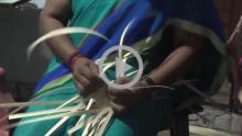 Palm Leaf Craft - Kanyakumari, Tamil Nadu - Part 1