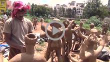 Making of Durga Idol - Tripura