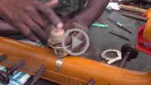 Veena Making - Bobbili, Andhra Pradesh - Part 1