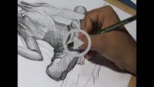 Part 4-Drawing Indian Sadhu (Pencil Shading -2)