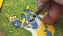 Cheriyal Painting - Making Process