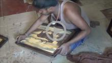 Mysore Rosewood Inlay Works