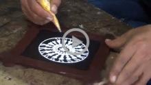 Saura Painting - Raghurajpur, Orissa